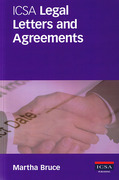 Cover of ICSA Legal Letters and Agreements