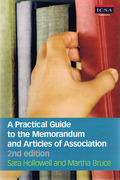 Cover of ICSA: A Practical Guide to Memorandum and Articles of Association