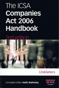 Cover of The ICSA Companies Act 2006 Handbook