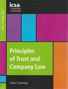 Cover of COFA: Principles of Trust and Company Law