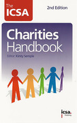 Cover of The ICSA Charities Handbook