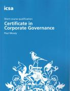 Cover of ICSA Study Text: Certificate in Corporate Governance
