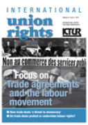 Cover of International Union Rights: Institutional Print + Online Subscription