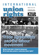 Cover of International Union Rights: Print Subscription