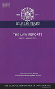 Cover of The Law Reports (Entire Series): The Law Reports - Parts Only