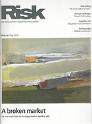 Cover of Risk.net Business Online Service with Risk Magazine