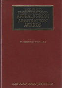 Cover of The Law and Practice Relating to Appeals from Arbitration Awards. 1st edition