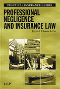 Cover of Professional Negligence and Insurance Law