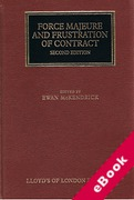 Cover of Force Majeure and Frustration of Contract (eBook)