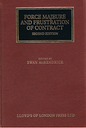 Cover of Force Majeure and Frustration of Contract