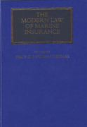 Cover of The Modern Law of Marine Insurance: Volume 1