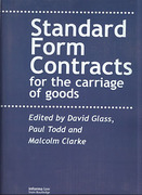 Cover of Standard Form Contracts for the Carriage of Goods