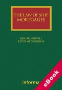 Cover of The Law of Ship Mortgages (eBook)