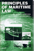 Cover of Principles of Maritime Law