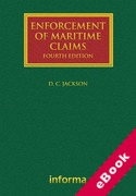 Cover of Enforcement of Maritime Claims (eBook)