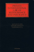 Cover of Private International Law of Reinsurance and Insurance