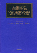 Cover of Liability Regimes in Contemporary Maritime Law