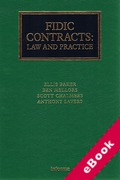 Cover of FIDIC Contracts: Law and Practice (eBook)