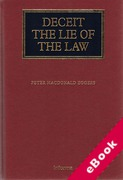 Cover of Deceit: The Lie of the Law (eBook)