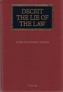 Cover of Deceit: The Lie of the Law