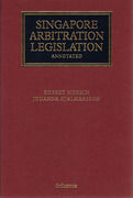 Cover of Singapore Arbitration Legislation Annotated