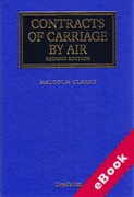 Cover of Contracts of Carriage by Air (eBook)