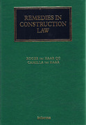 Cover of Remedies in Construction Law