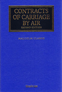 Cover of Contracts of Carriage by Air