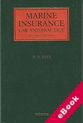 Cover of Marine Insurance: Law and Practice (eBook)