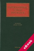 Cover of International Cargo Insurance (eBook)