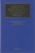 Cover of Marine Insurance Clauses
