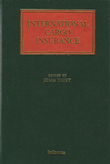 Cover of International Cargo Insurance