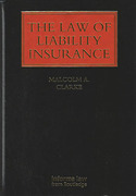 Cover of The Law of Liability Insurance