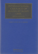 Cover of International Carriage of Goods by Road: CMR