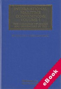 Cover of International Maritime Conventions Volume 1: The Carriage of Goods and Passengers by Sea (eBook)