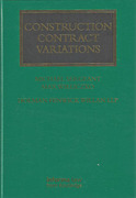Cover of Construction Contract Variations