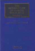 Cover of The Modern Law of Marine Insurance: Volume 4
