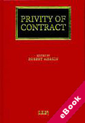 Cover of Privity of Contract: The Impact of the Contracts (Rights of Third Parties) Act 1999 (eBook)