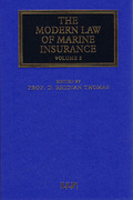 Cover of The Modern Law of Marine Insurance: Volume 2