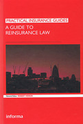 Cover of A Guide to Reinsurance Law