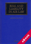 Cover of Risk and Liability in Air Law (eBook)