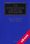 Cover of The International Law of the Shipmaster (eBook)