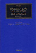 Cover of The Modern Law of Marine Insurance: Volume 3