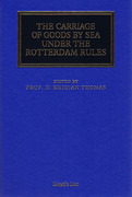 Cover of The Carriage of Goods by Sea Under the Rotterdam Rules