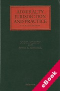 Cover of Admiralty Jurisdiction and Practice (eBook)