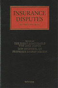 Cover of Insurance Disputes