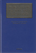 Cover of The Law of Yachts and Yachting