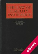 Cover of The Law of Liability Insurance (eBook)