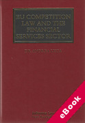 Cover of EU Competition Law and The Financial Services Sector (eBook)