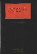 Cover of Lloyds: Law and Practice